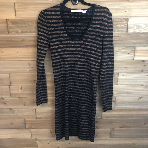 & Other Stories Dresses & Skirts - ⭐️&other stories black gold sweater dress sizeS ⭐️